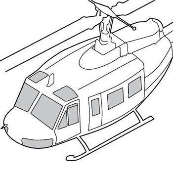 Helicopter Windows