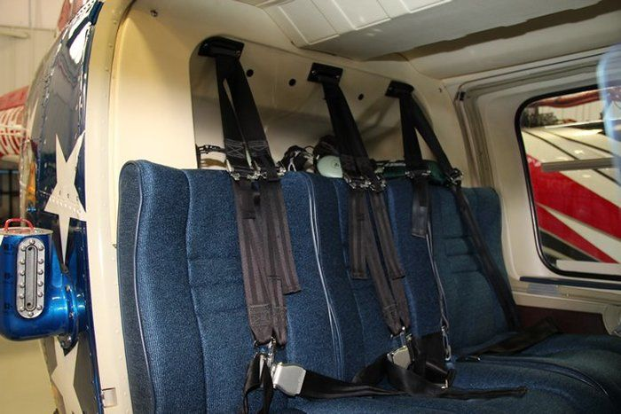 Bell 206 Series, OH-58, Crew and Passenger Shoulder Harness Components