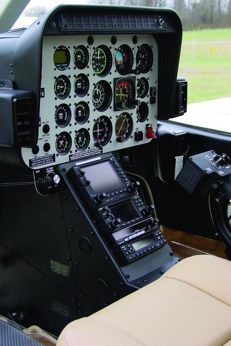 Bell 206 Series, Avionics Console Assembly Kit