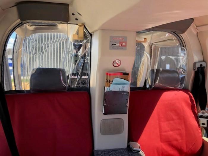 Bell 205, 212, 412, 407, 429 Series Alpine Aerotech Crew Barrier Kit