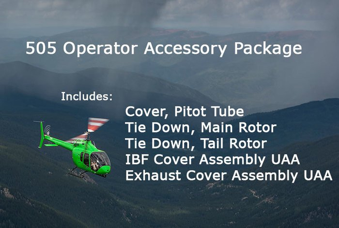 Bell 505, Operator Accessory Package (includes 5 items)