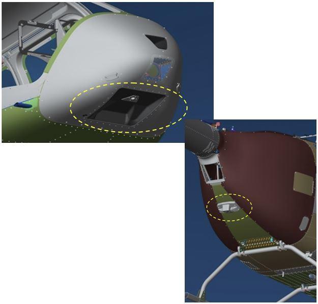 Bell 505, Hardpoints