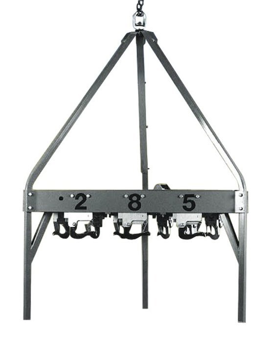 9 Hook Carrousel -  Includes Carrousel Frame and Selective Dial Control for Release of 9 Loads