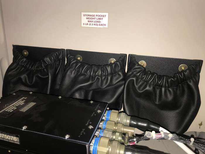 Bell 505 Baggage Compartment Divider Kit