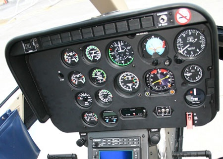 Bell 206 Series, Instrument Panel Overlay