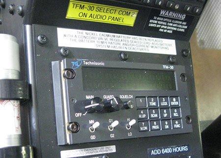 Bell 407 30MHz Radio