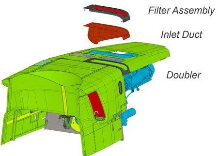 Bell 407, Inducer Vent Filter