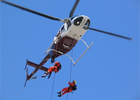 Bell 407, Rappelling Fixture Kit