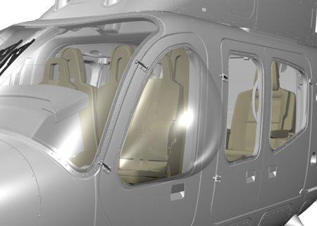 Bell 429, Crew Bubble Windows
