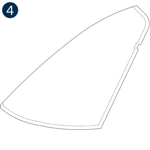 Bell TH-67, Windshields