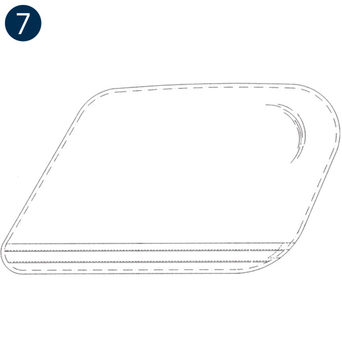 Airbus AS350/H125, AS355 Series, Passenger 7 Place Wedge Windows