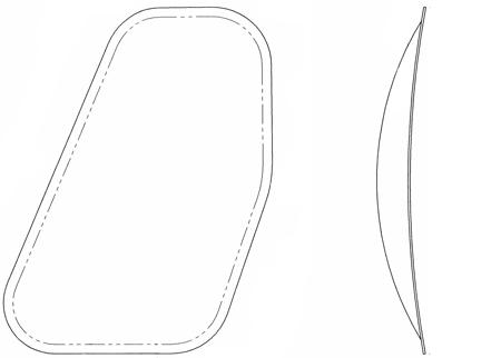 Airbus AS350/H125, AS355 Series, Passenger Windows Bulged