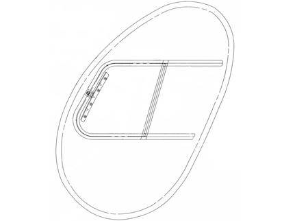 MD 500C, 500D, Crew Windows w/ Slider