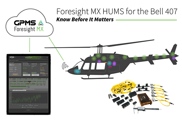 Bell 407 HUMS