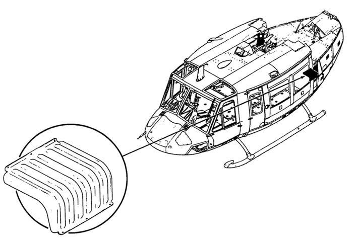 Bell 212, 412, Tarsyn Cover