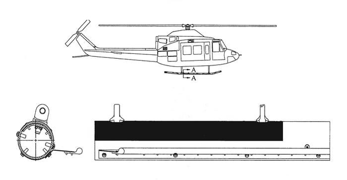 Bell 205, 212, 412, UH-1H, Float Gear Skid Guard Kit