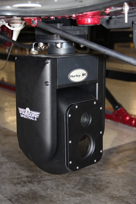 HurleyIR Falcon Spectral II Thermal Imaging System