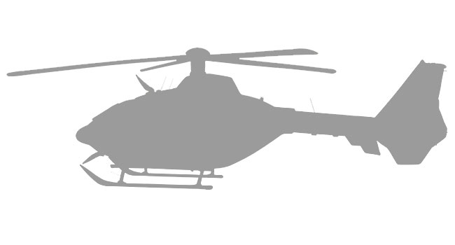 airbus helicopter windows  interiors  skid shoes  ground