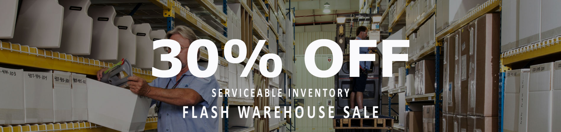 Warehouse Sale - 30% OFF