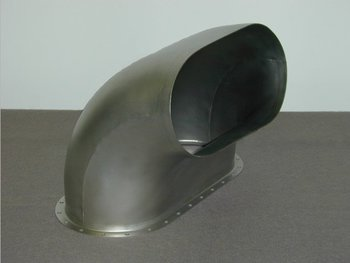 Bell 212, 412, UH-1N Exhaust Duct Assembly