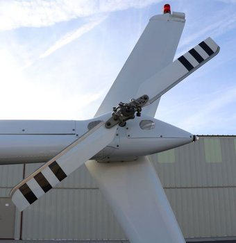 Bell 206 Series, Composite Tail Rotor Blades