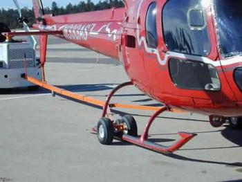 Eurocopter AS350, AS355, BK-117, BO-105, Towbar