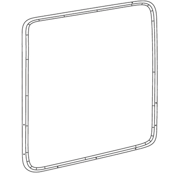 Bell 407, Solar Advantage Passenger High Visibility Door Window Kits