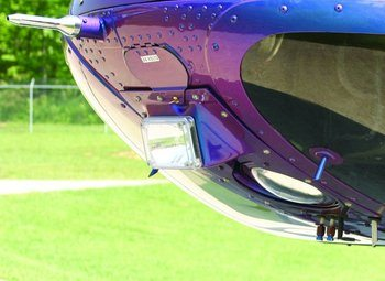 Bell 206B, L-3, L-4, Steerable Landing Light