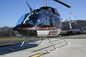 Bell 206L Series, High Skid Gear Kit
