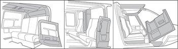 Bell 206L-3, L-4 Thru S/N 51402, Interior Trim - Complete Kits