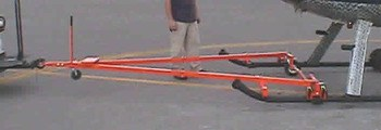 2 to 3 inch Diameter Skid Tubes, Towbar