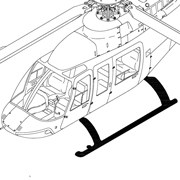 Bell 407, Low Skid Gear/Components, Replacement