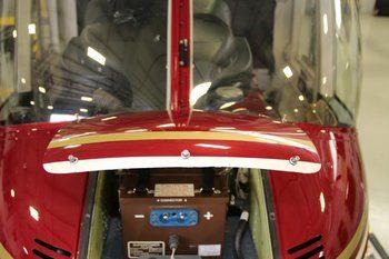 Bell 206A, B, Composite Battery Door