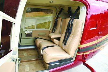 Bell 206L Series, Shoulder Harness Kit