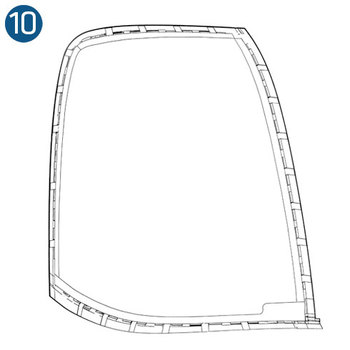 Bell 206 and 407 Polycarbonate Interior Trim