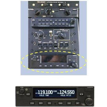 Bell 505, Second VHF Comm (Pedestal Mount) Installation Kit for GTR225B