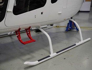 Bell 505, High Skid Gear
