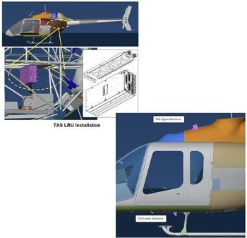 Bell 505, Traffic Advisory System Installation Kit*