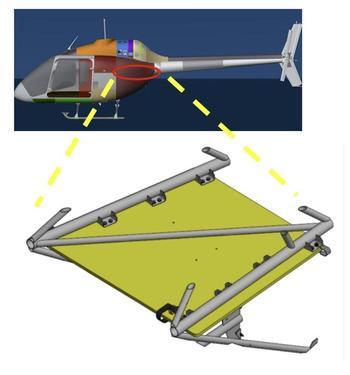 Expanded Avionics Shelf Install Kit