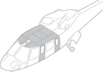 Sikorsky S-76A, B, C, Interior Trim - Complete Kits
