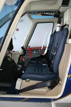Bell 206A, B, High Visibility Crew Door Automatic Door Openers