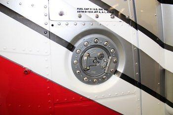 Bell 206 Series, OH-58, Locking Fuel Cap