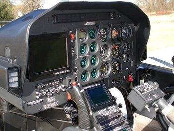 Bell 206A, B Expanded Instrument Panel