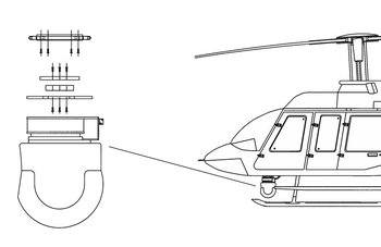 Bell 407, Wescam Model 104/12 Camera Quick Mount Kit