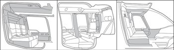 Bell 407, Interior Trim - Complete Kits