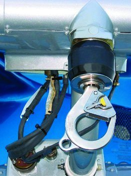 Bell 206 Series, 407, Breeze Eastern, External Rescue Safety Hook