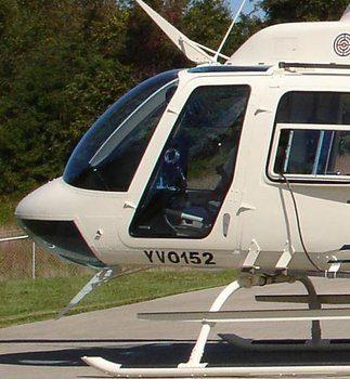 206A, B S/N 4 Thru 1750, High Visibility Crew Door Kit w/ Snap Vents