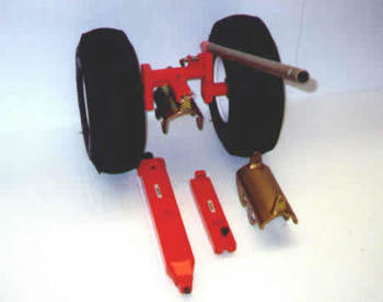Bell 47, Ground Handling Wheels