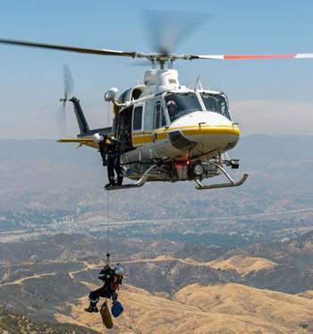 Bell 412EP/EPI External HEC Hoist Kits