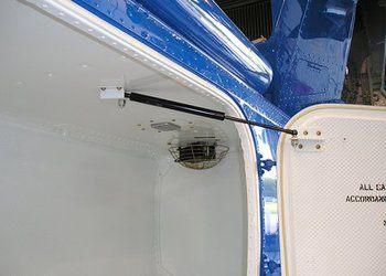 Bell 212, 412, 412EP, Automatic Baggage Door Opener
